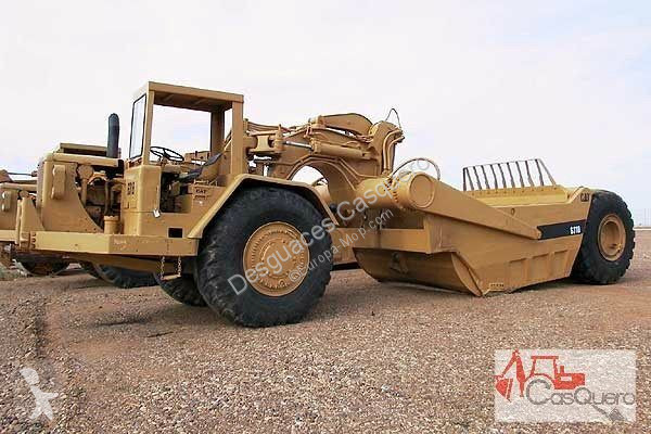 View images Caterpillar 631 B wheel tractor scraper - scraper