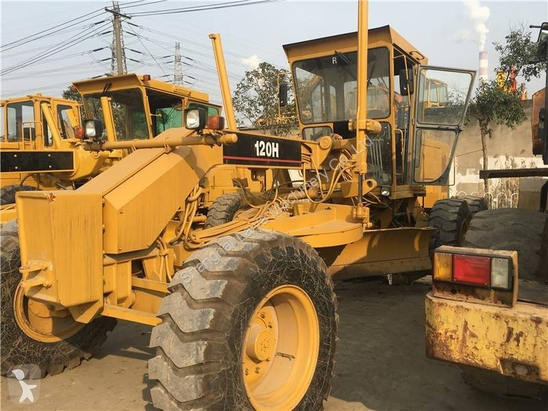 Voir les photos Niveleuse Caterpillar 120H