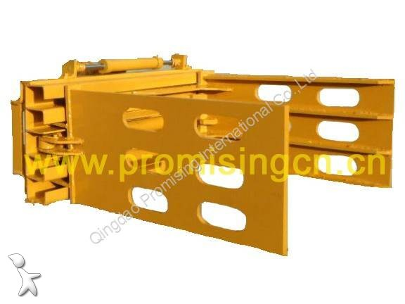View images Dragon Machinery Bale Grapple / Bale Grab / Bale Clamps/Loader Mounted Bale Grab handling part