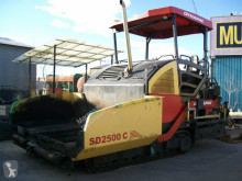 Dynapac SD 2500 C used asphalt paving equipment