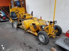 Extec sprayer road construction equipment