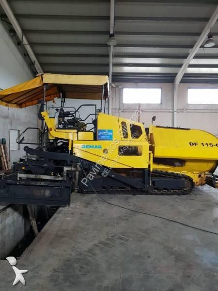 Vedeţi fotografiile Echipamente pentru lucrari rutiere Demag DF 115 C-EB 50