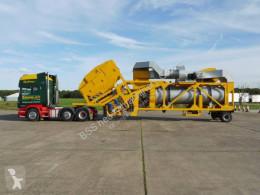 Obras de carretera planta de asfalto Parker SRM 60 mobile asphalt plant