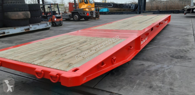 Fotoğrafları göster Diğer donanımlar nc RT40/100T Lowbed Roll Trailer