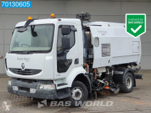 Renault Midlum 220 Sweeper Kehrmaschine Scarab Aufbau used sweeper-road sweeper
