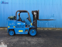 Chariot à gaz Caterpillar T125D Max 5700 kg, H 3,50 mtr, LPG / GPL Gas