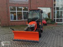 Kubota BX261 CAB Winterpaket / Streuer und Schild! new sweeper-road sweeper