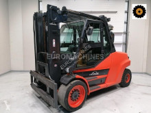Linde H80D-1100 used heavy duty forklift