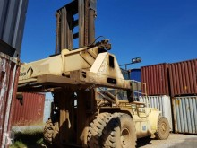 Hyster loaded containers handling heavy forklift H44