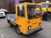 Linde Pabst EFW 2002 Elektroschlepper LKW Kipper Plattformwagen Zugmaschine