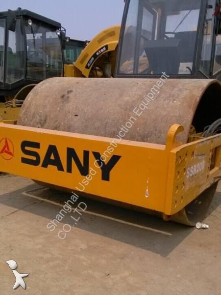 Voir les photos Compacteur Sany SSR200