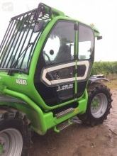 Merlo Turbofarmer TF42.7-156 telescopic handler used