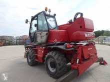 Stivuitor telescopic Manitou MRT 1542 ROTO 2 fourches godet goulotte béton second-hand