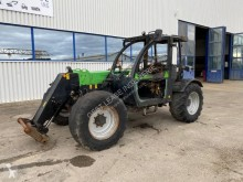 Deutz-Fahr AGROVECTOR 35.7 heavy forklift damaged