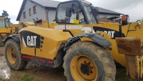 Gaffeltruck med stativ Caterpillar TH414