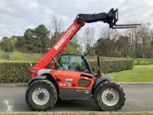 Manitou MLT634TLSUSBE2 telescopic handler used