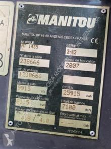 Преглед на снимките Телескопичен товарач Manitou MT 1435 SLT