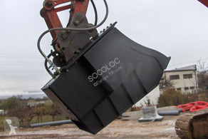 Godet cribleur new ditch cleaning bucket