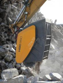 İş donanımları One-TP Godet concasseur Hartl pour pelle 11 à 55 tonnes