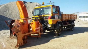 Fresia f120cl used snow plough-salt spreader