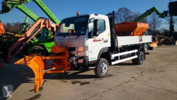 Mitsubishi snow plough-salt spreader