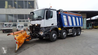 Mercedes snow plough-salt spreader arocs – 4148