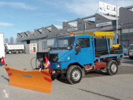 4×4 used snow plough-salt spreader