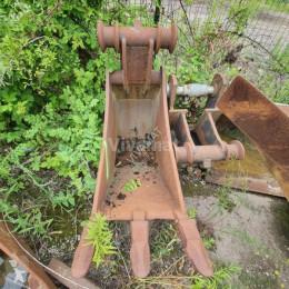 Equipamentos de obras balde balde de trincheiras MORIN MODULE 6