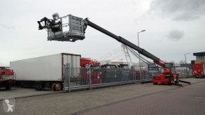 Manitou Telescopic forklift truck aerial platform used self-propelled