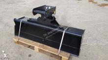 TKmachines 80 cm Hydraulischer Grabenräumlöffel Baggerlöffel für Minibagger 0,8 - 2,0 Tonnen stlačovací lopata nový