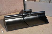 Godet terrassement TKmachines 160 cm Grabenräumlöffel Baggerlöffel für Minibagger 3,0 - 6,5 Tonnen, Schaufeln