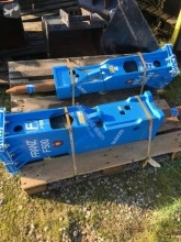 Equipamientos maquinaria OP Martillo hidráulica Franz