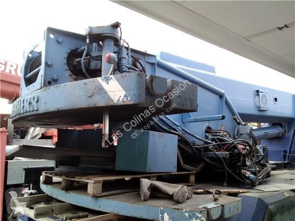 Se fotoene Udstyr til anlægsarbejder Liebherr Bras de grue Base Estructura Grua pour grue mobile  LTM 1025