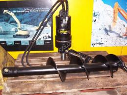 Equipamientos maquinaria OP taladro socoloc-tarière et trancheuse digga
