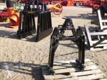 Vybavenie stavebného stroja dvojčeľusťový drapák Stenenklem