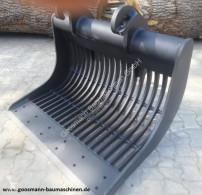 Equipamientos maquinaria OP Pala/cuchara Siebschaufel mit CW 30 Aufnahme