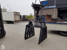 Equipamientos maquinaria OP Pala/cuchara Gebruikte Stenenklem + jip Wiellader