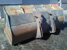 Ahlmann AZ 210E - 2,65 mtr - Bucket/Schaufel/Dichte bak balde usado