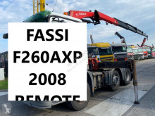 تجهيزات الآليات الثقيلة رافعة إضافية Fassi F260AXP F260AXP