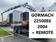 Grúa grúa auxiliar 22500E6 - 6X HYDRAULIC + REMOTE CONTROL 22500E6