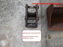 Schaeff hitch and couplers SWE mit 2 Löffeln