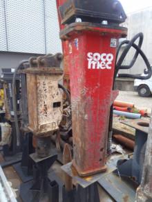 Equipamientos maquinaria OP Martillo hidráulica Socomec DMS 950