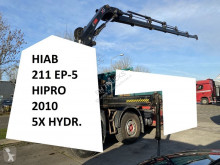 Equipamientos grúa auxiliar Hiab 211 EP-5 HIPRO + REMOTE + 2 OUTRIGGERS 211 EP-5