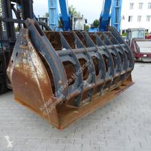 Equipamientos maquinaria OP cuchara de mordazas LRT Niederhalterschaufel 2550MM