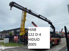 Equipamientos grúa auxiliar Hiab 122 D-4 HIDUO + REMOTE CONTROL + 2 OUTRIGGERS 122 D-4