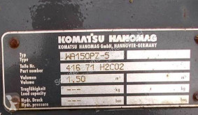 Komatsu WA150PZ-5 machinery equipment used