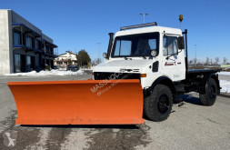 Mercedes unimog used snow plough