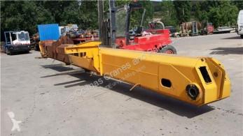 Equipamientos maquinaria OP Brazo de elevación Krupp Bras de grue Tramo Fijo Principal Elevacion GMK 4060 pour grue mobile GMK 4060