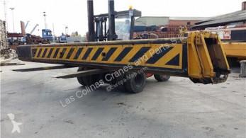 Equipamientos maquinaria OP Brazo de elevación Liebherr Bras de grue Tramos Extensiones Pluma LTM 1050 Pluma 38Mts pour grue mobile LTM 1050 Pluma 38Mts