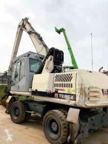 Terex TM230 excavator pe roti second-hand